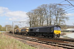 66434 Redhills, Penrith (DieselDude321) Tags: ny hall rail 66 class crewe cumbria points network carlisle carrier services ssm direct penrith 1043 basford drs redhills 66434 6x05