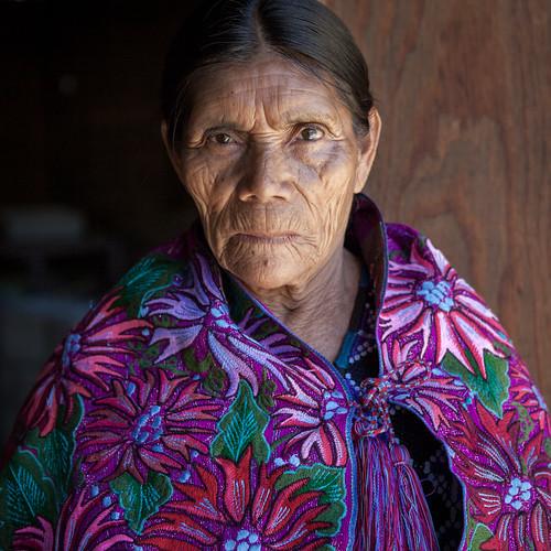 Magdalena. Zinacantán, Chiapas, México