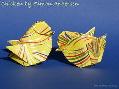 Küken/Chicken by Simon Andersen (esli24) Tags: easter origami ostern origamichicken simonandersen osterküken esli24 ilsez