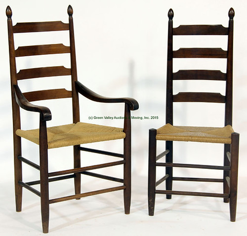 6 Clore Ladderback Chairs - $715.00 (Sold April 24, 2015)