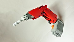 Lego Technic Cordless Drill (with Power Functions motor) (hajdekr) Tags: engine equipment motor cordless tool drill xlarge cordlessdrill legotechnic materry
