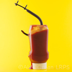 Hooked On Sugar; Tomato Ketchup © (AlanOrganLRPS) Tags: red food kitchen dinner tomato lunch screws diy bottle ketchup sweet accident sauce bracket dressing sugar health condiment hook wound addiction splatter foodanddrink obesity puncture saucy catering diabetes meathook forensic healthyeating tomatoketchup additivesinfood hookedonsugar