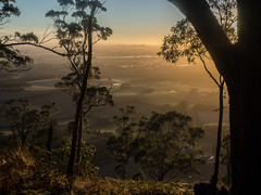 "Sunrise over Mt Buninyong • <a style=""font-size:0.8em;"" href=""http://www.flickr.com/photos/7605906@N04/26010291020/"" target=""_blank"">View on Flickr</a>"