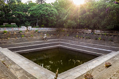 Amruth Sarovar in Nandi hills (Aditya Chandra) Tags: travel sun india heritage architecture stairs canon ancient pattern outdoor bangalore hills nandi karnataka repeat hillstation nandihills sarovar amruth chikkaballapur