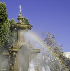 Arcoiris en las Batallas (jlpezrecio) Tags: arcoiris del spain feria libro granada fuentedelasbatallas