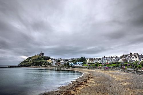 Criccieth, Cardigan Bay, Gwynedd, North Wales.