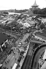 Parade_001 (oceanloverm) Tags: march blackwhite crowd chinese parade celebration sarawak malaysia kuching dun yearly annually