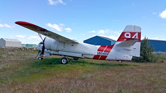 TS-2A Tracker 136546 ex-CDF N404DF CDF-94 (JimLeslie33) Tags: abandoned airport weed navy 94 vs preserved retired derelict tracker usn tanker vt s2 grumman cdf s2f s2a s2f1 136546 ts2a n404df
