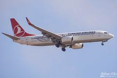 Turkish Airlines --- Boeing 737-800 --- TC-JFN (Drinu C) Tags: plane aircraft aviation sony boeing dsc turkish 737 mla 737800 turkishairlines lmml tcjfn hx100v adrianciliaphotography