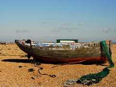 Down the boats  3 (Bruners) Tags: boats mess paddy fine hamilton changing same always ever | a dungenessbeach