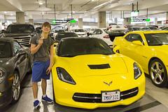 Jackson Tries to Rent a Corvette (aaronrhawkins) Tags: new trip vacation cars car airport sandiego fast rental jackson camaro springbreak agency license teenager enterprise corvette drivers rentalcar appeal aaronhawkins