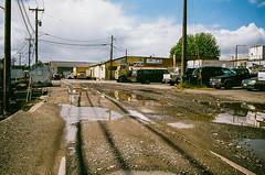 Old Ballard Thrives (poidawgie) Tags: seattle washington fujifilm ballard superia400 konicahexar