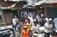Padyatra Kashmiri Gate J P Agarwal DPCC AICC (J P Agarwal ww.jaiprakashagarwal.com New Delhi Ind) Tags: j gate p kashmiri agarwal dpcc aicc padyatra
