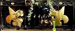 Golden Fleur De Lis DTyler (DTylerPhotoEvents) Tags: neworleans frenchquarter ironwork fleurdelis
