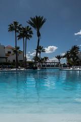 Paradise (Fjola Dogg) Tags: park vacation holiday water pool canon island hotel spain europe palm palmtrees tenerife evropa sundlaug gisting parquesantiago3 evrpa plmatr canonpowershotg7x canong7x