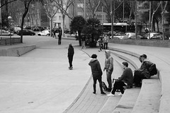 the wave (hey_dima) Tags: barcelona bw march spring ride bcn spot skaters riding tamron 2470mm 2470 canon5dmarkii