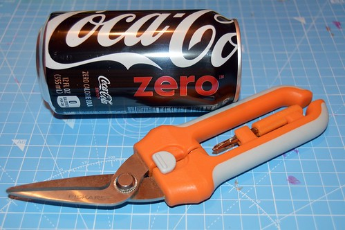 can and utility scissors