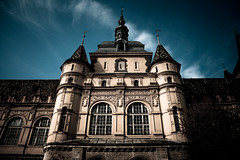 Vajdahunyad Castle (crybaby75) Tags: sky building castle architecture clouds contrast canon outside spring hungary budapest dramatic highlights april 1785 lowkey tavasz vr darkart 2016 vajdahunyad vrosliget prilis efs1785isusm efs1785 vajdahunyadvra vajdahunyadvr 1000d canoneos1000d