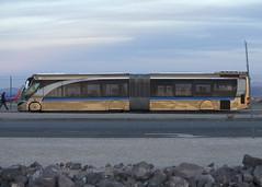 Bus_Las Vegas_8499 (Mike Head - Jetwashphotos) Tags: usa bus america us different desert lasvegas nevada nv transit streamlined lasvegasboulevard desertsouthwest bliner futuristicdesign