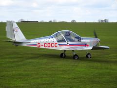 G-CDCC Aerotechnik EV-97 Eurostar cn PFA 315A-14262 Sywell 23Apr16 (kerrydavidtaylor) Tags: eurostar