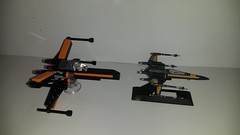 20160424_001826 (p13c30fch33s3) Tags: starwars lego mini xwing poes resistance t70 30278