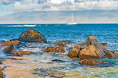 Morning View - Kapalua to Molokai (Zeta_Ori) Tags: beach hawaii sailing maui kapalua molokai napili kapaluabeach kapaluabay