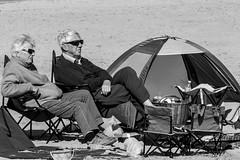'Very Pleasant Indeed' (Splendid What) Tags: beach sand picnic promenade dorset sandbanks goodfriday