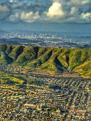 SFO to LAX #hdr (shinnygogo) Tags: sanfrancisco landscape sfo aerial bayarea hdr airplaneview