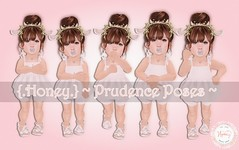 {.Honey.} ~ Prudence Poses ~ (Maggie0294) Tags: baby cute pose kid toddler adorable sl honey poses {honey} staticpose toddleedoo
