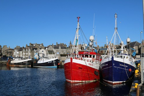 18th April 2016. Fraserburgh Harbour, Aberdeenshire
