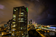 Thunder-6 (L-Imaging) Tags: sunset sky chicago weather buildings cloudy niko lightening thunder sinset weath chicagocity ligthining limaging