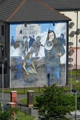 Mural politico en Londonderry Ulster Irlanda 05 (Rafael Gomez - http://micamara.es) Tags: ireland del mural united kingdom ciudad londonderry british northern islas isles norte irlanda ulster reino unido politico britanicas uladh cuige