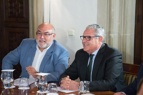 Reunión del President Puig con el sector agroalimentario - Valencia (26-04-2016)