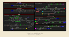 'The End of Days'; The Demise of Sheffield Power Signalbox, 1/5/2016. (Views in Camera) Tags: psb tpe dmu northernrail class158 transpennineexpress chrisbooth class185 142028 sheffieldmidlandstation 158903 142015 158910 142068 158902 158817 142038 150228 leedstohuddersfield 1y21 blurbpublishing multiaspectcolourlightsignals 2b40 fortyyearsofthesheffieldpowersignalbox shrewsburyroadtunnels ecsmove 5y17 sheffieldtomanchesterpiccadilly sheafstreettunnels sheffieldpowersignalbox 5t94 barnsleytobarnsley class14x barnsleytohuddersfield massignals signal0279 signals0278 signals0293 signals0295 signals0288 signals105 signals106 signals110 signals127 signals128 signals129 signals130 stationdmus