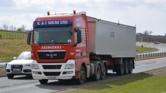 SJ59 HBH (panmanstan) Tags: man truck wagon scotland transport lorry commercial vehicle bulk a90 haulage stracathro tgx