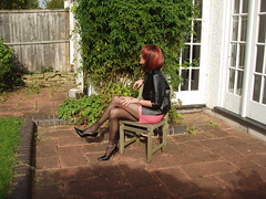 Enjoying the spring sunshine (dianalondontv) Tags: sexy ass stockings leather sex fetish tv pretty highheels dress legs outdoor slut feminine gorgeous arse pussy mini erotica tights skirt crossdressing sensual redhead tgirl transgender nails tranny transvestite heels manicure tease elegant trans suspenders stiletto stilettoheels tart transexual miniskirt pantyhose crossdresser arousing ts nylon pleasure teasing leatherjacket gurl leggy slutty anklet stilettos longlegs nylons elegance decadent rednails tarty minidress longnails stilletos beautifullegs wolford anklebracelet tightskirt stockingtops anklechain suspenderbelt tgurl lacetopstockings ffnylons ffstockings stilettonails