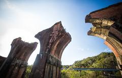 GTJ-2016-0501-4 (goteamjosh) Tags: abandoned train taiwan  miaoli   sanyi dragonbridge taiwanesehistory   longtengbrokenbridge  sanyitownship taiwanrailways japanesecolonialera yutengpingbridge longtendbridge