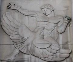 The Gods... (jmaxtours) Tags: toronto ontario bank gods basrelief prometheus greekgods torontoontario thegods bankofnovascotia romangods thebankofnovascotia