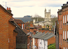 Winchester View! ('cosmicgirl1960' NEW CANON CAMERA) Tags: houses green buildings hampshire manmade winchester redbrick yabbadabbadoo