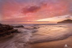 Warriewood flow (Seany99) Tags: sky seascape beach clouds sunrise flow rocks waves sydney australia nsw warriewood sydneysnorthernbeaches