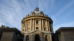 Radcliffe Camera (jakobplaschke) Tags: camera old city travel england sky building stone architecture buildings ancient britain great adventure oxford walls radcliffe bodleian