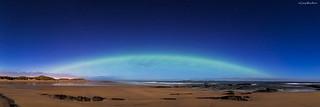 An Aurora-bow ! - Aurora Borealis, Seahouses, Northumberland