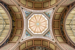 Looking up in the Royal Exhibition Building, Melbourne, Australia (Unesco world heritage site) (Maria_Globetrotter) Tags: trip travel summer vacation tourism beautiful canon wonderful photo amazing nice fantastic good interior sightseeing culture indoor visit destination inside traveling exploration cultural 6d oceania interir 2016 oceanica 2015 mariaglobetrotter wwwmariaswardcom img1010armin