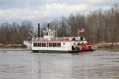Mark Twain Riverboat (Boat Spotters) Tags: travel tourism wheel river boat marine ship traffic mark riverboat twain arkansas arkansasriver rivertour tourboat paddel commercialboat boatspotting