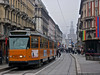 ATM 4911 (Luca Adorna) Tags: orange milan milano tram 4900 atm castellosforzesco arancione atmmilano castellosforzescomilano trammilano jumbotram atm4911 atm4900