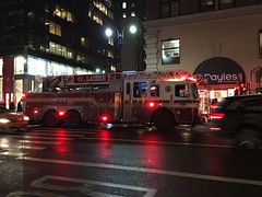FDNY Engine 1, FDNY Engine 65, FDNY Ladder 4 and FDNY Ladder 24 on call at Fifth Avenue and 38th Street. (ronon44) Tags: nyc newyorkcity chinatown lowereastside fifthavenue fdny lordtaylors 38thstreet madisonstreet fdnyengine1 fdnyengine65 fdnyengine9 fdnyladder24 fdnyladder4