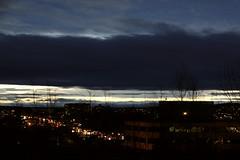 Cityscape at Twilight (Apollo51x) Tags: light sunset sun weather skyline sunrise canon skyscape solar movement twilight skies spectrum gamma atmosphere ciel sherbrooke nuage specter skysolar jasminhudon