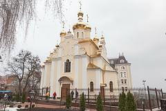 Храм в честь святителя Феодосия Черниговского (Львовская площадь)