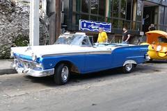 Ford Fairlane Cabrio 1957 on Cuba streets (roli_b) Tags: streets classic cars ford car vintage us calle vintagecar december havana cuba 1957 oldtimer habana cabrio oldie havanna fairlane kuba cabriolet 2015 fordfairlane