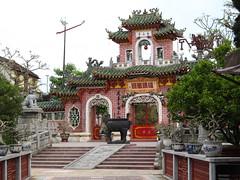"Hoi An: le Temple Phuc Kiên <a style=""margin-left:10px; font-size:0.8em;"" href=""http://www.flickr.com/photos/127723101@N04/24161718054/"" target=""_blank"">@flickr</a>"